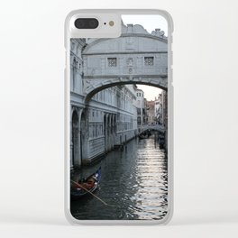 Bridge of Sighs Clear iPhone Case