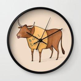 Bull Shirt Wall Clock