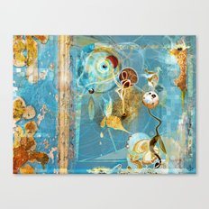 Cosmodigilogital Honey Canvas Print