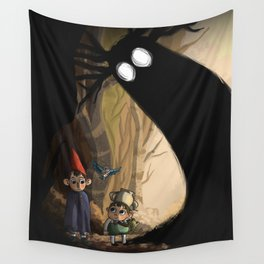Over the garden wall Wall Tapestry