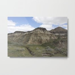 Horseshoe Canyon 3 Drumheller Badlands Metal Print