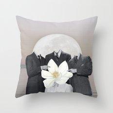 Strange Material Throw Pillow