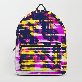 Aesthetic Urban Abstract Visual Art Pop Art Colors Backpack