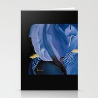 iris Stationery Cards featuring Iris by Genevieve Chausse Designer