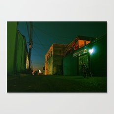 Summer night cruiser Canvas Print