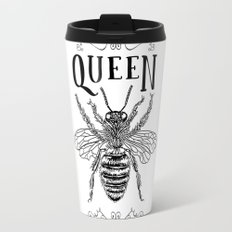 Queen Bee Poster Travel Mug