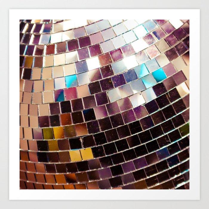 Disco Ball Kunstdrucke