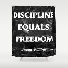 Discipline Shower Curtain