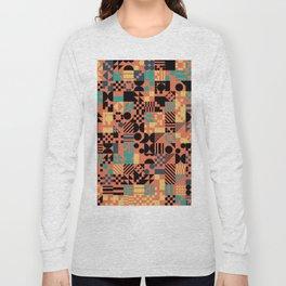 RAND PATTERNS #95: Procedural Art Long Sleeve T-shirt