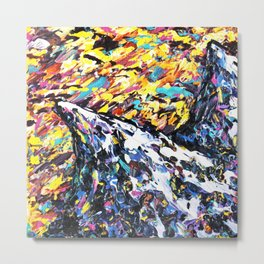 Mountain Art Metal Print