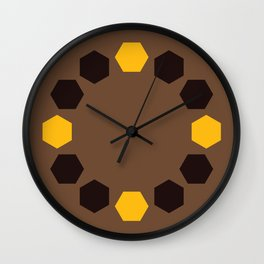 Chocolate Covered Oranges Wall Clock