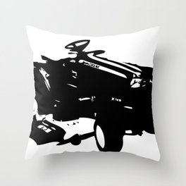 Tractoral  Throw Pillow