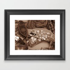 Sold by a Gypsy Framed Art Print