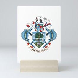 Coat of arms of Seychelles Mini Art Print