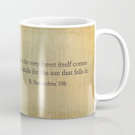 Forest & Axe — Illustrated Quote Coffee Mug