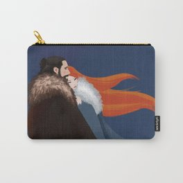 Facing the Night Together Carry-All Pouch