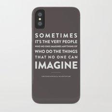 Imagine - Quotable Series Slim Case iPhone X
