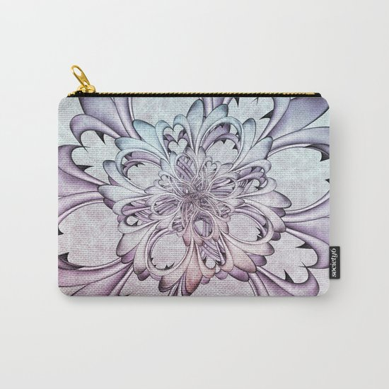 Floral abstract . Carry-All Pouch
