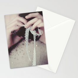 tied up Stationery Cards