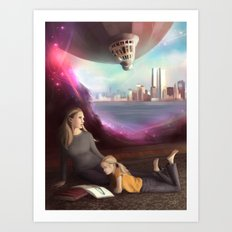 Wherever You Want to Go Art Print