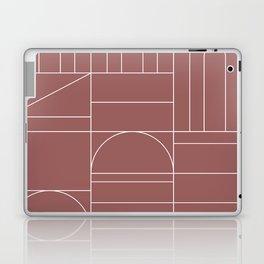 Deco Geometric 04 Dark Pink Laptop & iPad Skin