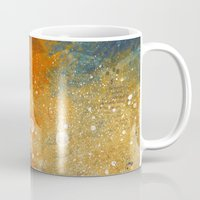 sci fi Mugs featuring Sci-fi Girl by Selver Liddell