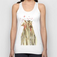 tangled Tank Tops featuring Tangled by Julia Kisselmann