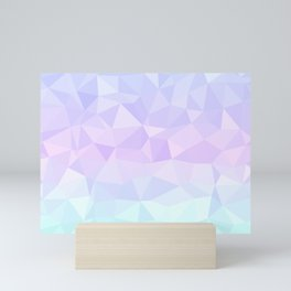 Cool Pastels Mini Art Print