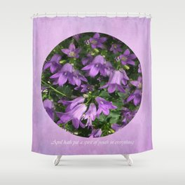 April spirit Shower Curtain