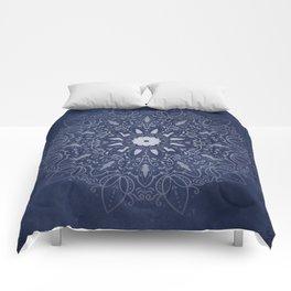 Indigo Mystique Mandala Comforters