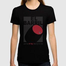 El Barril Black T-shirt
