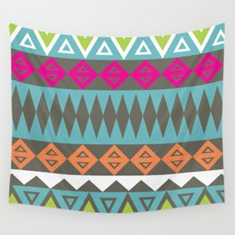Aztec Pattern No. 17 Wall Tapestry