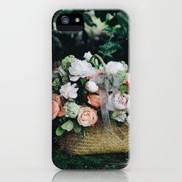 Flower Photography by Lizzie iPhone Case