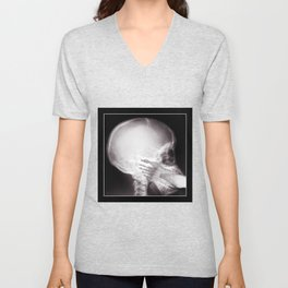 Foot In Mouth X-Ray Unisex V-Neck