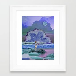 Magical day Framed Art Print