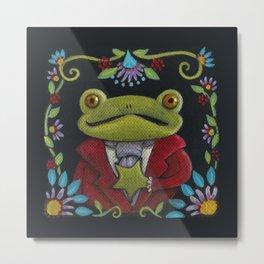 Mister Frog Metal Print