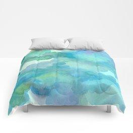 Breathing Under Water Comforters