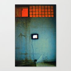 tv wall Canvas Print