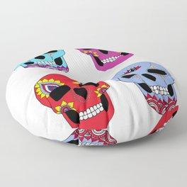 skulls Floor Pillow