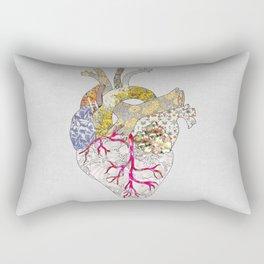 my heart is real Rectangular Pillow