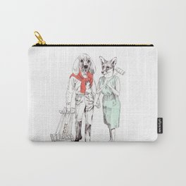 Bestial cricket couple Carry-All Pouch