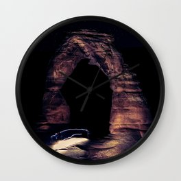 Delicate Arch Arches National Park Utah Wall Clock
