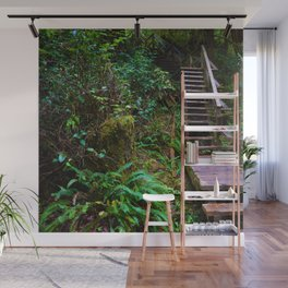 Staircase to heaven Wall Mural