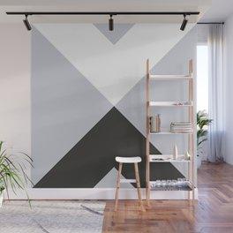 Minimal X Frost Wall Mural