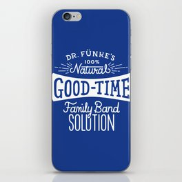 Dr. Funke's 100% Natural Good-Time Family Band Solution iPhone Skin
