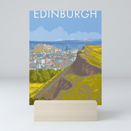 Endinburgh, Salisbury Crags Mini Art Print