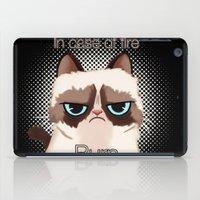 grumpy iPad Cases featuring Grumpy  by Blaze-chan