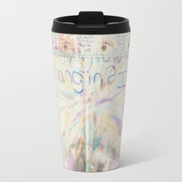 passing notes in class Travel Mug