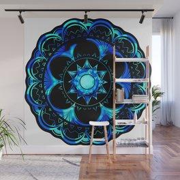Psychedelic Mandala Wall Mural