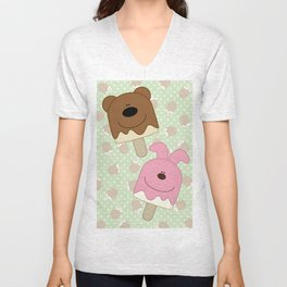 Candy bar Unisex V-Neck
